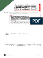 TSB - Transmission Identification