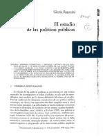 4- Regonini - El Estudio de las Políticas PúblicasR