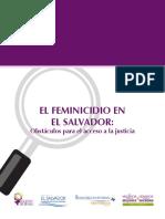Feminicidio en El Salvador Ok