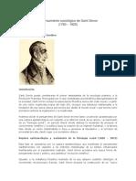 El Pensamiento Sociológico de Saint Simon Por Berthier