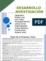El Desarrollo de Investigación