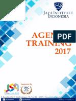Agenda Training Jaya Institute 2017
