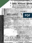 Mosaic Tabernacle