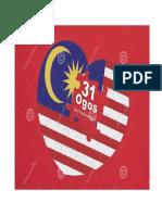 Logo Merdeka Tahun 1 2016