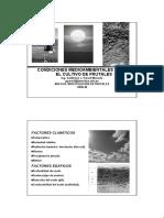 Condiciones Medio Ambientales Frutales