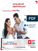 HDFC Click2protect Plus Brochure