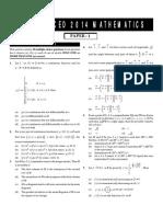 Adva. Maths 2014
