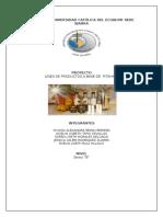 Linea de Productos Elaborados a Base de Pitahaya