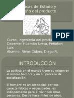 Políticas de Estado y Diseño Del Producto Avance 2