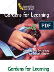 Gardens for Learning