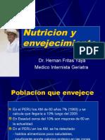 Envejecimiento y Necesidades Nutricionales