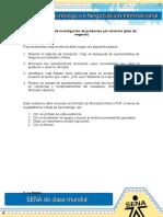 Plan de Investigación de Productos Yo Servicios (Plan de Negocio)
