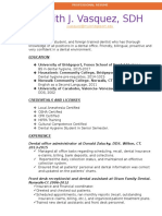 sdh short resume 2017