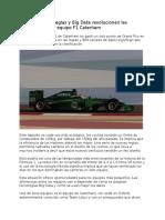 Caterham F1 Big Data