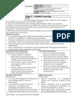 unit assessment plan - unit a grade 7
