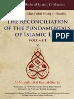 Al Muqafaqat 1 imam Al Shatibi