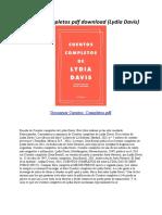 Cuentos Completos - Lydia Davis
