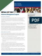 Wharton Advanced Management Program
