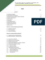 Mejoramiento Genetico Del Ganado Vacuno en Los Distritos de Canchabamba, Pinra, Huacaybamba y Cochabamba, Provincia de Huacaybamba, Departamento de Huánuco