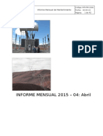 Informe Mensual -Abril 2015