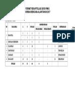 Format Rekapitulasi Data Pmks 2