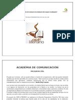 Café Literario.