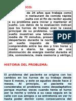 Caso Clinico Insomnio