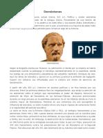 Biografía Demóstenes