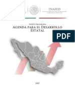 b. Agenda Para El Desarrollo Estatal