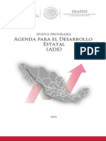 A. Folleto Agenda Para El Desarrollo Estatal