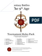 Ninth Age Tournament Rules v0.1.0
