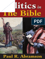 Politics in the Bible Paul R. Abramson ISBN-10