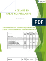 Calidad de Aire en Áreas Hospitalarias 2015-09-03 Arq. Lopez