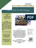 Plant a Row Brochure - Seed Leaf