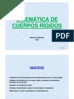 2 Teoria CINEMATICA Cuerpo Rigido 2012