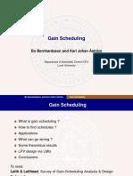 Gain Scheduling