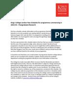 Postgraduate Research 2015