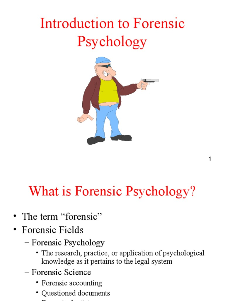 forensic psychology an interesting and critical view to a crime Inside the criminal mind : understanding the dark side of human conduct, by stanton e samenow, phd.