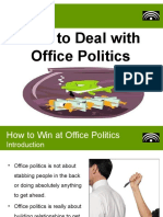 How to Deal With Office Politics