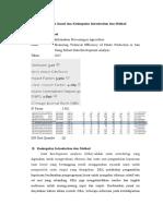 Analisis Jurnal Dan Kesimpulan Introduction Dan Method