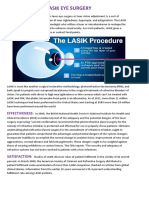 History, Effectiveness and Risks of Lasik Eye Surgery