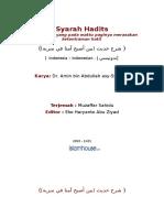 Syarah Hadits