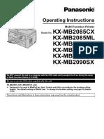 KX-MB2090 Manual (en) Man 01