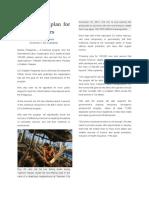 ILO Sets Job Plan for Storm Survivors