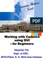 Working With Cadence