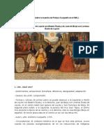 Sobre Matrimonios de Martín de Loyola con Beatriz Ñusta y de Juan de Borja con Lorenza Ñusta de Loyola