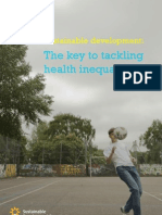 Sustainable Development - The Key to Tackling Health Inequalities