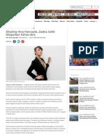 Dituding Hina Pancasila, Zaskia Gotik Dilaporkan Fahira Idris