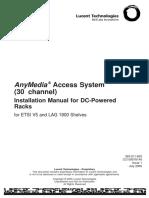 Installation Manual for Alu Lag1900