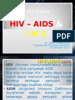 Penyuluhan Hiv-Aids, Ims_ima